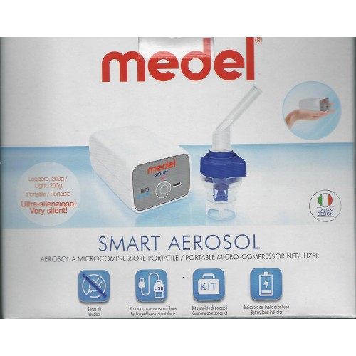 MEDEL Smart Aerosol a Microcompressore Portatile