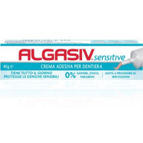 ALGASIV Sensitive - Crema Adesiva per Dentiere - 40 gr.